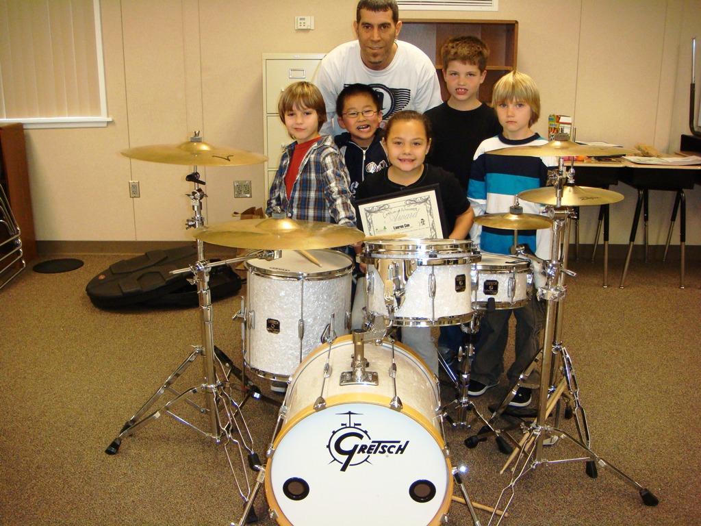 Drum class rocks!!