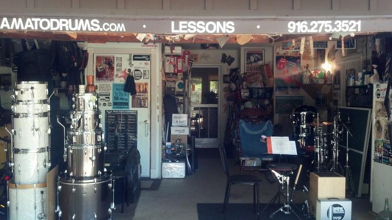 AmatoDrums Learning studio Front