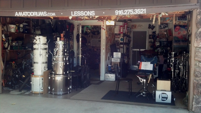 AmatoDrums Learnming studio Front 2